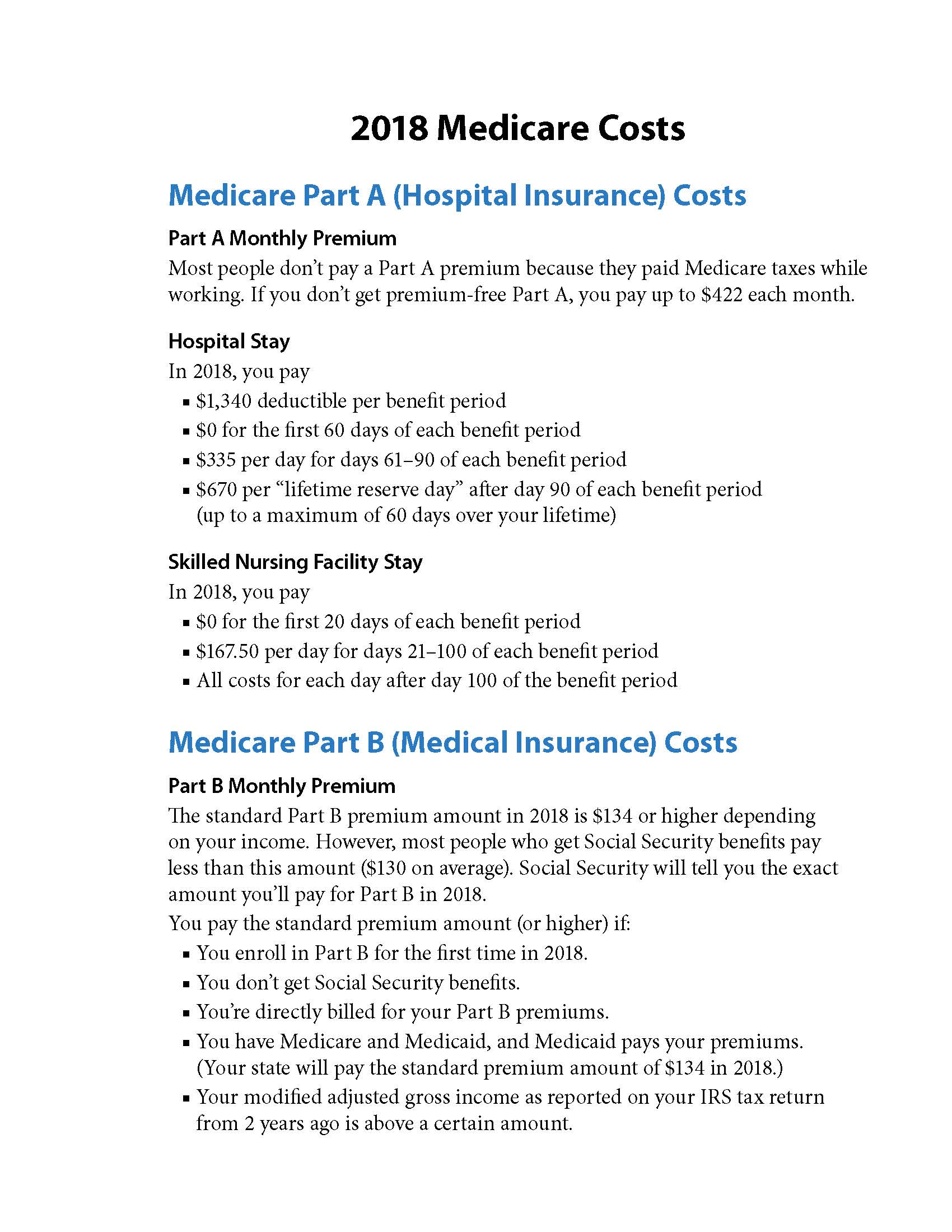 Medicare Costs thumbnail