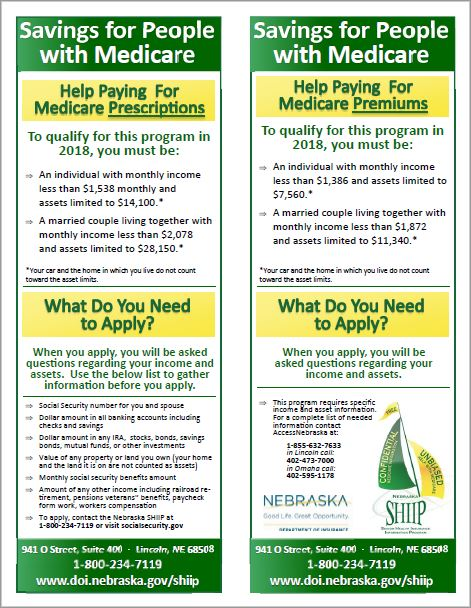 Savings for people with Medicare brochure image